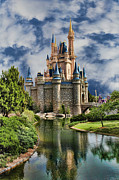Cinderella Castle Framed Prints - Cinderella Castle II Framed Print by Lee Dos Santos