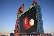Baseball Cap Posters - Citizens Bank Park - Philadelphia Phillies Poster by Frank Romeo