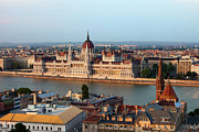 Rooftop Photos - City of Budapest Cityscape by Artur Bogacki