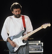 Eric Clapton Photos - Clapton by David Plastik