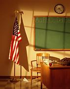 Classroom Print by Tony Cordoza