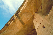 Mesa Verde Framed Prints - Cliff Palace Tower Framed Print by Jerry McElroy