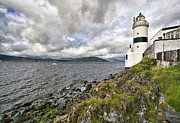 The Clyde Glasgow Prints - Cloch lighthouse Print by Marcia Colelli