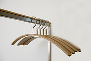 Coat Hanger Prints - Clothes hangers Print by Mats Silvan