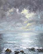 Cloudburst Print by Sandra  Francis