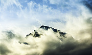 Eifeltower Framed Prints - Clouds above the Alps Framed Print by Bernhard Nijenhuis