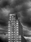 Architecture - Clouds and Highrise by Robert Ullmann