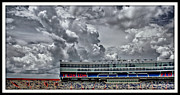 Florida Gators Framed Prints - Clouds Over Stadium Framed Print by Farol Tomson