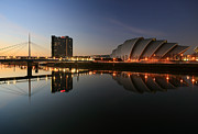 Glasgow Posters - Clydeside Reflections  Poster by Grant Glendinning