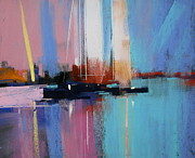 Featured Pastels Posters - Coast Poster by Tony Allain