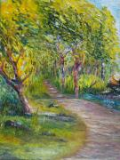 Pathway Paintings - Coastal Path by Conor Murphy