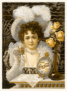 Vintage Advertising Posters - Coca-Cola Vintage Retro Poster Poster by John Stephens