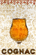 Designs Mixed Media Posters - Cognac Poster by Frank Tschakert