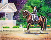 Dressage Horse Originals - Collection by Kristine Plum