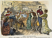 Leadville Prints - COLORADO: SALOON, c1880 Print by Granger