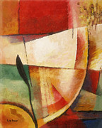 Abstract Expressionism Paintings - Composition by Lutz Baar