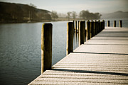 Coniston Art - Coniston Jetty by Simon Wrigglesworth