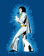 Elvis Presley Art - Cool Elvis by Jarod