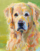 Kelly Paintings - Cooper by Kimberly Santini