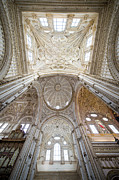 Sculptured Posters - Cordoba Cathedral Interior Poster by Artur Bogacki