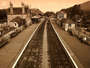 Linsey Williams - Corfe station
