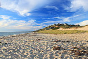 Cape Cod Metal Prints - Corn Hill Beach Truro Cape Cod Metal Print by John Burk