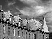 Universities Metal Prints - Cornell College Bowman Carter Hall Metal Print by University Icons