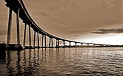 Bay Bridge Photos - Coronado Bay Bridge by Russ Harris