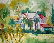 Suzanne Willis Metal Prints - Country Home Metal Print by Suzanne Willis