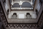 Mudejar Prints - Courtyard of the Dolls in Alcazar of Seville Print by Artur Bogacki
