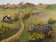Katherine Young-Beck - Cows Grazing