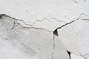 Weatherworn Prints - Cracked Stucco Print by Michal Boubin