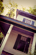 Haunted House Photo Posters - Creepy Old House Poster by Jill Battaglia