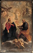 Holy Figures Prints - Crespi Giuseppe Maria Know As Spagnuolo Print by Everett