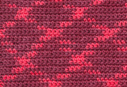 Crochet With Variegated Yarn Print by Kerstin Ivarsson