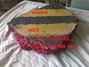 Street Sculptures - Croydon Rock by Robert Gould
