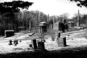Forgive Prints - Crypts and Monoliths Mt. Moriah Cemetery Yeadon Pennsylvania Print by John Hanou