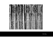 Curtained Window Print by Xoanxo Cespon