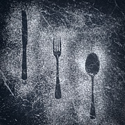 Icing Sugar Photos - Cutlery by Christopher and Amanda Elwell