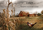 Randall Branham Prints - Dad Happy Fathers Day Print by Randall Branham