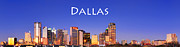 Dallas Framed Prints - Dallas Framed Print by David Perry Lawrence