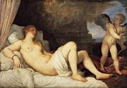 Famous Artists - Danae by Titian