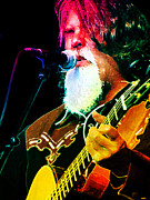 Dobro Digital Art Posters - Darrell Scott Poster by Julie Turner