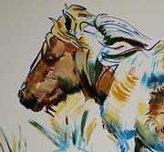 Pony Drawings Originals - Dartmoor Pony by Mike Jory