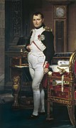 David; Jacques Louis (1748-1825) Metal Prints - David, Jacques-louis 1748-1825. The Metal Print by Everett