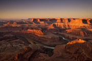 Canyonland Prints - Dead Horse Point Morning Print by Andrew Soundarajan