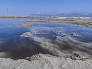 Wonder Of The World Prints - Dead Sea landscape Print by Dan Yeger