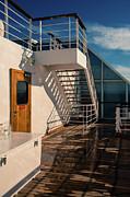 Marilyn Wilson - Sports Deck Stairway