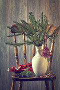 Featured Art - Decorating For Christmas by Christopher and Amanda Elwell