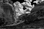 Spider Rock Framed Prints - Deep in Canyon De Chelly Framed Print by Bob Johnston